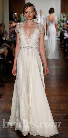 Jenny Packham. Kate Middleton's blue dress in white!