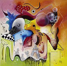 Coup de cœur du concours de peinture de novembre sur www.myrankart.com Stimulus by Ruthy Février