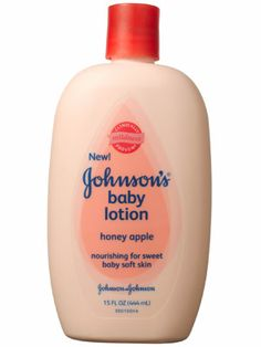 Johnson's Honey Apple Baby Lotion.  My new fave!