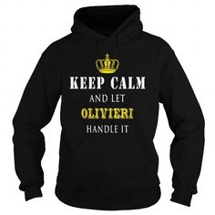 Awesome Tee  KEEP CALM AND LET OLIVIERI HANDLE IT Shirts & Tees