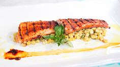 Argentina Smoked Trout on Corn Salad