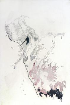 """Refuge / 20x30"""" / ink on matte mylar"""