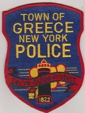 Town of Greece NY Police patch