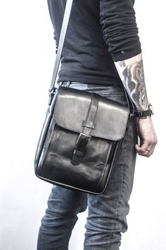 Men messenger bag leather crossbody bag men shoulder bag Men Shoulder Bag 072332851f0