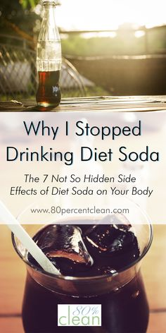 Know diet soda is ba