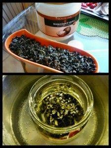 Kokosový olej so zeleným čajom (fotorecept) - obrázok 1