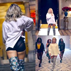 Zara Larsson - Ain't My Fault, outfit Gonna need these boots!