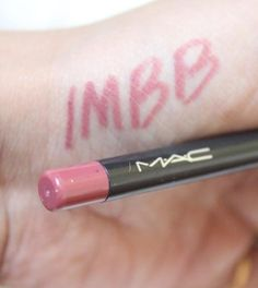 #MAC #CremeStick #Liner #PinkTreat #review #price and details on the blog #swatch