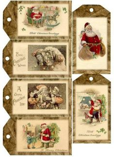 Country Cabin Offers a Unique selection of Handmade Primitives and Rustic Country Accents. Christmas Tags Printable, Christmas Graphics, Christmas Gift Tags, Christmas Paper, Christmas Projects, Vintage Christmas Images, Victorian Christmas, Christmas Pictures, Images Noêl Vintages