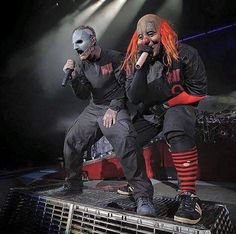 "Corey Taylor & Shawn ""Clown"" Crahan (Slipknot)"