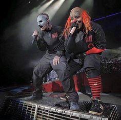 "Corey Taylor & Shawn ""Clown"" Crahan (Slipknot)"
