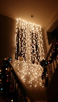 72 best cascading lights images on Pinterest | Ornaments, Candles ...