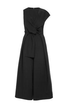 Agathe Bow Jumpsuit by TIBI Now Available on Moda Operandi
