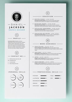 30+ Resume Templates for MAC - Free Word Documents Download:
