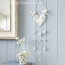 Shabby chic accessories are a stylish way to add finishing touches to any home. Take a look at the hanging mirrors, jewellery boxes, bookends and much more. Shabby Chic Bathroom Accessories, Vintage Accessories, Hanging Garland, Hanging Hearts, Chic Bathrooms, Vintage Vanity, Country Chic, Vintage Home Decor, Pink Roses