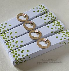 Ostergoodies 1 Card Tags, Cards, Hoppy Easter, Easter Baskets, Stampin Up, Goodies, Paper Crafts, Gift Wrapping, Seasons