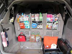 Organizing the car