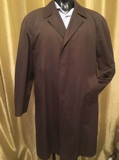 Vintage Burberry Commuter 1960s Trench coat