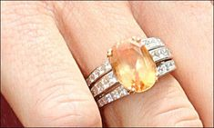 Queen Maxima of the Netherlands ring: Given to her by Willem-Alexander on the birth of Princess Alexia