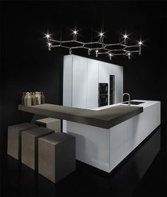 Cuisine linéaire en Corian® Collection One by RIFRA    #LGLimitlessDesign & #Contest