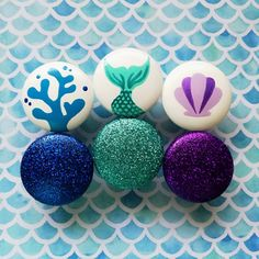 Mermaid Drawer Knobs for Dresser, Girl Mermaid Bedroom Decor, Glitter Mermaid Drawer Knobs, Mermaid Nursery Dresser Knobs decor Girls Little Mermaid Bedroom, Mermaid Room Decor, Mermaid Wall Art, Mermaid Diy, Mermaid Nursery Theme, Mermaid Decorations, Mermaid Lagoon, Girl Dresser, Nursery Dresser