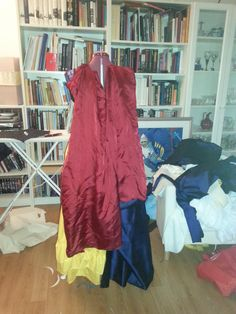 Must decide length of the cape. Shorter is closer to original, but I think longer looks better.