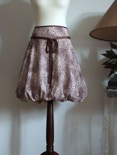 Baloon skirt puffy skirt Vanilla with chocolate chips by couvert, $85.00