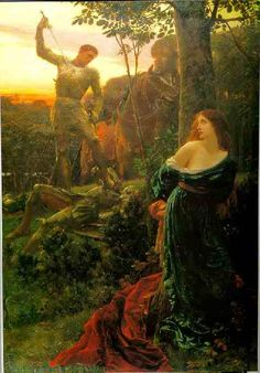Pre-Raphaelite Arthurian Paintings | This one is for White Fay!