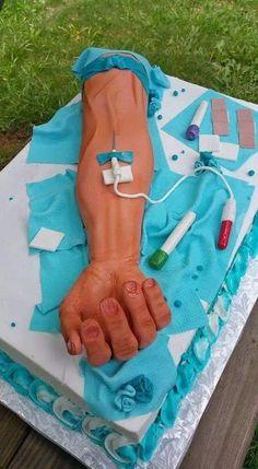 52 Ideas For Medical Doctor Graduation Nurse Cakes Nurse Grad Parties, Nurse Party, Nursing School Graduation, Nursing Schools, Medical Cake, Medical Party, Bolo Original, Gateau Harry Potter, Doctor Cake