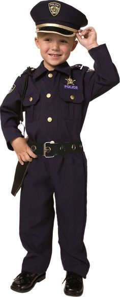 Award Winning Deluxe Police Dress Up Costume Set - Toddler T4  sc 1 st  Pinterest : childs police officer costume  - Germanpascual.Com