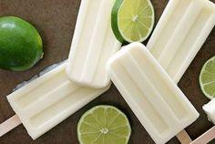 Semana do Picolé: coco, gengibre e limão