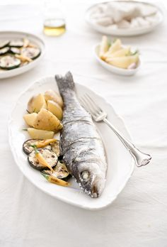 A Trip To Ston & Fish Baked In Salt Crust #croatian #food #recipes…