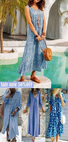 Summer Skirts, Summer Dresses, Long Dresses, Pretty Clothes, Pretty Outfits, Up Styles, Go Shopping, Shop Now, Hair Cuts