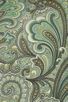 seafoam green paisley - Google Search