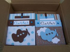 Airplane Baby Shower Invitations by Andi-Kay - Cards and Paper Crafts at Splitcoaststampers