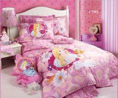 23 Inspiring Pink Kids Bedding Photo Idea