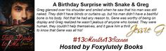 Foxylutely Books!: Happy Birthday Jessie G - #13Months13Scenes - A birthday surprise! #TalkDirty #Snake #Greg #Excerpt