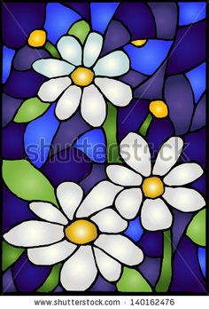 Wildflowers  / Stained glass