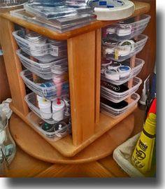 Hobby Alternatief: CD Rekken en plastic bakjes
