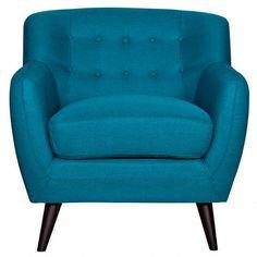 Addison Arm Chair - Petrol