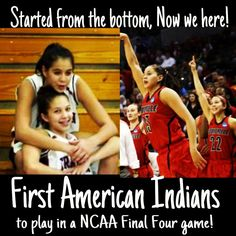 Schimmel sisters are the first Native Americans to play in the NCAA Final 4.