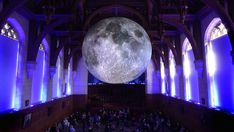 Artist's Giant, Intricate Replica Of The Moon Is Captivating Audiences Worldwide