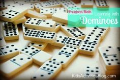 Preschool Math: Learning With Dominoes - Kids Activities Blog
