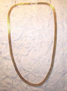 Vintage Gold Tone Necklace Gold Necklace, Vintage, Jewelry, Gold Pendant Necklace, Jewlery, Jewerly, Schmuck, Jewels, Vintage Comics