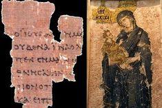 La plus ancienne prière adressée à Marie découverte sur un papyrus egyptien.