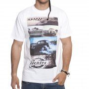 Camiseta Dickies: Hot Rod Engine WH