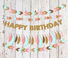 Wild One Birthday Banners Wild One Party Banners Tribal