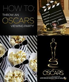 How to host an Oscars Viewing Party