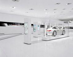Porsche Museum | Südstudio Stuttgart Porsche, Exhibition Display, Design Museum, Showroom, Home Appliances, House Design, Home Decor, Volvo, Corner
