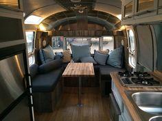 Vintage Airstream remodel.